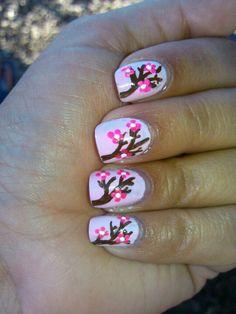 Cherry blossom nals
