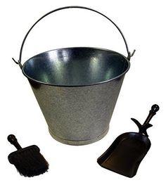 Kit Limpieza Chimenea Imex El Zorro #accesorioscalefaccion #varioscalefaccion Bauhaus, Pellets, Kit, Products, Open Fireplace, Nail Cleaning, Combustion Chamber, Dustpan, Cubes