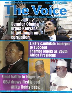 Cover Page for The Voice magazine issue No 79