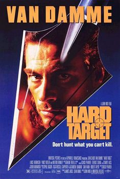 """Hard Target - The thrill of the hunt. It's the ultimate drug, and the more intense the rush, the higher the price. Banking on this equation is sadistic mercenary Emil Fouchon, who is recruiting homeless combat veterans for the """"amusement of his clients""""--Bored tycoons who will pauy half a million dollars to stalk and kill the most challenging prey of all: man."""
