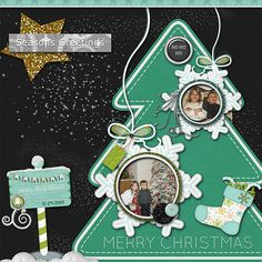 """Santa Stop Here  Credits:  """"Silver Bells Collection"""" (Exclusive Quick Pages) by Dees-Deelights Font Used:  DJB Play Misty For Me  Available at: My Memories Store –  Kit:  http://www.mymemories.com/store/display_product_page?id=DDDR-CP-1411-74814 Exclusive Quick Pages: http://www.mymemories.com/store/display_product_page?id=DDDR-QP-1411-75284"""