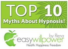 Take a look at the top 10 myths about #hypnosis They may surprise you!