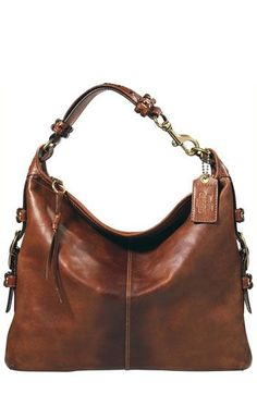 Coach Felicia Leather Extra Large Slim Duffle