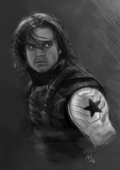 Winter Soldier 2 by Ancha-Snow1 Fan Art / Digital Art / Drawings / Movies & TV©2014 Ancha-Snow1
