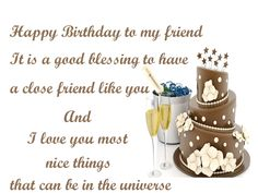 Birthday Wishes for Best Friend – Images, Messages and Quotes for Best Friend