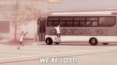 Perdidos pero felices XD