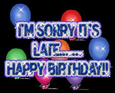 HOPE U HAD A BLAST......MAY U B BLESSED WITH MANY MORE