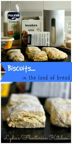 Baking Powder Biscuits for Two ~ Lydia's Flexitarian Kitchen Baking Powder Biscuits, Skinny Diet, Brownie Cake, How To Eat Less, Real Food Recipes, Cooking Tips, Homemade, Breads, Kitchen