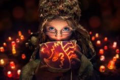Just a glowing hedgehog by John Wilhelm
