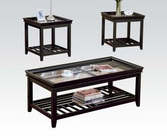 06362 in by Acme Furniture Inc in New Bedford, MA - 3Pc Pk Coffee/End Table set