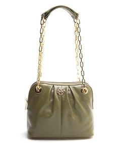 Look what I found on #zulily! Electric Eel Leather Shoulder Bag by Tory Burch #zulilyfinds