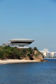 contemporary art museum - Rio de Janeiro...nothing beats being 1000ft from this in person btw my fav beach there too