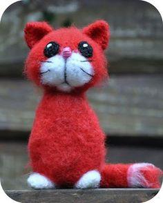 Nederlands patroon - Poekie kat