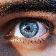 I love blue eyes