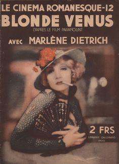 Blonde Venus 1932 French Program