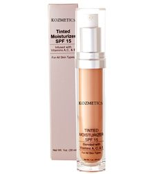 Tinted Moisturizer w/SPF15  Hydrating, oil-free tinted moisturizer restores skins essential moisture while providing a touch of natural sheer coverage. SPF 15 and potent Vitamins A,C, and E will protect skin from free radicals and other harmful effects of the environment. Highly recommended for all skin types. Tinted Moisturizer, Vitamins, Women's Clothing, Environment, Skincare, Touch, Oil, Cosmetics, Natural