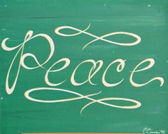 Peace by CaitieCompton on Etsy