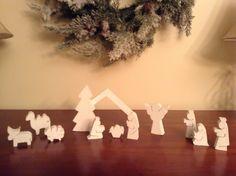 Rachel's  nativity scene .