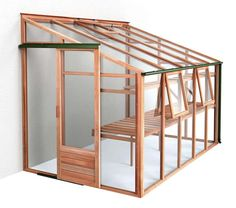 Growhouse Lean-To Greenhouse 6\'x10\'