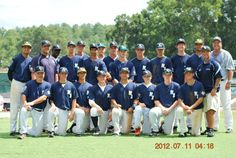 The 17U PBI Eagles at the Perfect Game Showcase in East, Cobb Georgia July 2012
