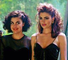 Sherilyn and Madchen- Twin Peaks