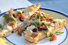 Little Birdie Secrets: chicken burrito pizza