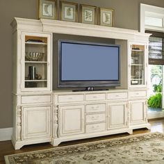 I like the top moldings and the leg details  Paula Deen Home Console Only | Wayfair