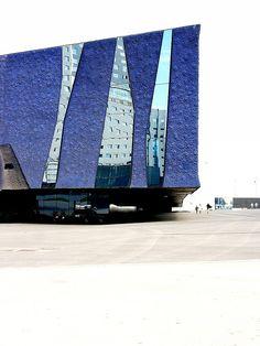 Forum Building x Herzog & de Meuron c. jmtp #blue