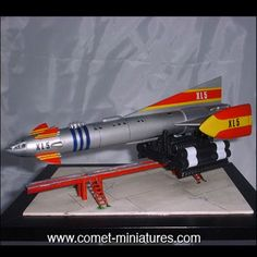 Fireball XL5 - from the 1960s Gerry Anderson science fiction series.