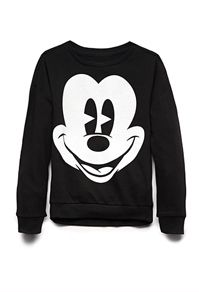 Classic Mickey Mouse Sweatshirt  by: Forever21 #CRAVING + #BUYING AS A CHRISTMAS GIFT #ForeverHoliday