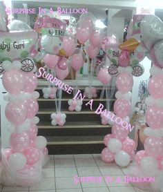 #baby shower#surprise in a balloon#elkhart, indiana