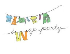 Planning a clothing swap party