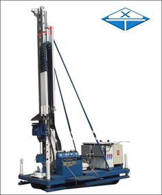MDL-100D、MDL-120D、MDL-160D、MDL-200D Anchor Caterpillar Drilling Rig is a high efficiency drilling rig mainly for anchoring, jet grouting and dewatering, which is well designed and produced by Jiangsu Wuxi Mineral Exploration Machinery General Factory Co., Ltd. This series Drilling Rig is all-hydraulic operated drill accordance with the requirements of subway, high-rise building, airport and the other deep foundation pit.