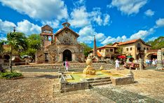 La Romana, on the southeast coast of the Dominican Republic, is home to the charming Altos de Chavón, a replica of a 16th century artisans' village and one of the island's best spots to shop for crafts.