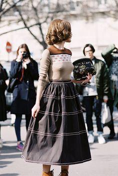 Vanessa Jackman: Paris Fashion Week AW 2015....Ulyana