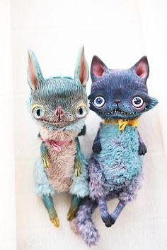 teeth by da-bu-di-bu-da on DeviantArt Ugly Dolls, Kawaii, Bizarre, Cute Monsters, Paperclay, Little Doll, Creepy Cute, Cute Toys, Animal Sculptures