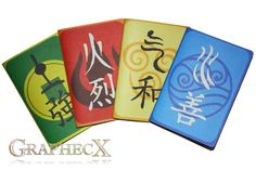 Fan-made Avatar The last Airbender inspired by Graphecx on Etsy