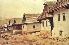 #Šumiac #Horehronie #Slovensko #Словакия #Slovakia Old Photos, Nostalgia, Cabin, Technology, House Styles, Places, Photography, Travel, Painting
