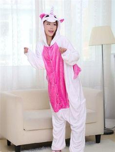 6b3a68a2e0 2016 Winter Pajama sets Women pijama unicornio Panda stitch unicornio  onesies for adults Animal Pajamas Cartoon Cosplay pyjama