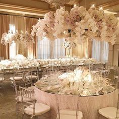 Think Pink – Wedding at Beverly Wilshire Pink Wedding Receptions, Wedding Reception Decorations, Wedding Themes, Wedding Centerpieces, Wedding Table, Wedding Ceremony, Wedding Venues, Wedding Photos, Luxury Wedding Decor