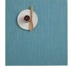 Chilewich Bamboo Square Placemats | Teal