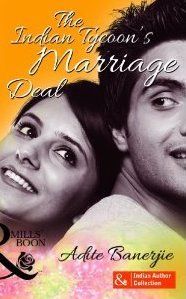 Well-done desi romance! Book Review : The Indian Tycoon's Marriage Deal by Adite Banerjie