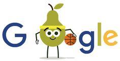 Día 13 de los Doodles de Juegos de Frutas 2016. Entérate más en g.co/fruit