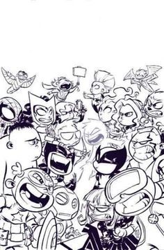Always thought Skottie Young's incredible artwork leaps off the page? Well, now it does - with a little help - in this colorful collection of punch-out Marvel heroes! Featuring nine sturdy pages fille
