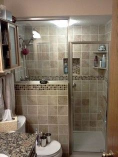 Small Master Bathroom Renovation – Traditional – Bathroom – other metro – by P. Houzz Bathroom, Bathroom Renos, Bathroom Ideas, Bathroom Designs, Bathroom Small, Bathroom Interior, Master Bathrooms, Bathroom Mirrors, Shower Ideas