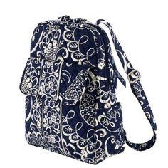 Vera Bradley Backpack   Twirly Birds Navy