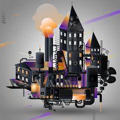 Adobe / New Creative Cloud 2015 on Behance