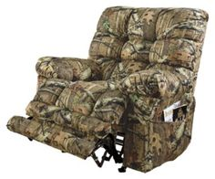 (Mossy Oak Infinity) Catnapper Oversized Magnum Rocker Recliner With Heat and Massage. Camo Furniture, Furniture Ideas, Hunting Camo, Mossy Oak, First Home, My Living Room, Country Girls, My Dream Home, Man Cave