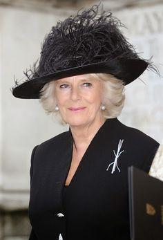 Duchess Of Cornwall attends a service of thanksgiving for Lady Soames at Westminster Abbey, London, England, UK - 20th November 2014