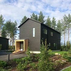 Honka Markki - Scandinavian minimalism. Honka log homes.